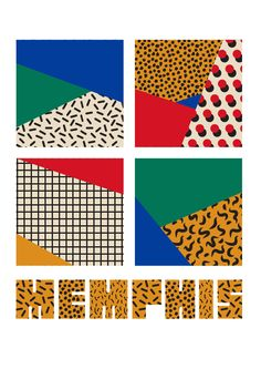 Memphis Style 1 Memphis Style 1 Memphis Style 1 on Behance<br> Geometric Patterns, Geometric Poster, Blue Background Patterns, Geometric Background, Memphis Design, Conception Memphis, Memphis Milano, Memphis Art, Interior Design Trends