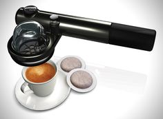 Discover Wild ESE, an amazing portable handheld espresso machine. You can now drink an expresso anywhere, anytime! /  Buy it, Borderlinx will ship it to you.  http://www.borderlinx.com/