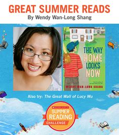 Looking for great summer reads for kids? Here are some recommendations by Wendy Wan-Long Shang. Click through or visit scholastic.com/summer for more! #summerreading
