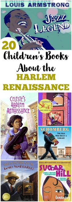 These Harlem Renaissance books for kids are wonderful for learning about this period in American history! #history #blackhistory #reading