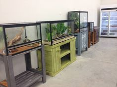 Custom made Reptile tank stands made by Rhind House of Timber