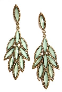 Pendientes Mint via Jewelcloning. Click on the image to see more!