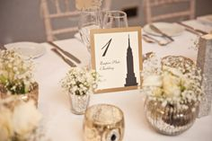 Place Table Numbers Stationery Classic Chic Simple Elegant Champagne Wedding Kent http://kerryannduffy.com/