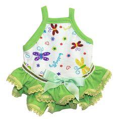 Guinea Pig Dress (Colorful Butterflies-B), $12.50