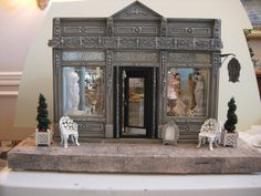 double shop front doll house - Google Search
