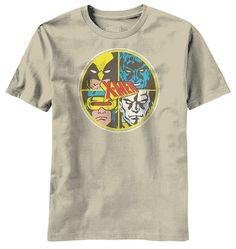 4 Friends X-Men T-Shirt - from Superheroes Direct Marvel Comics Art, Marvel X, Geek Out, Nerd Geek, Four X, Marvel Clothes, Marvel Shirt, Psylocke, Wolverine