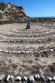 If it seems ridiculous that walking circles of stones can give you peace and focus, there are more than 300 labyrinths in South Africa that might prove you wrong...