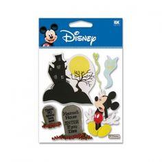 Cozy's Scrapbooking Friday Featured Item - Disney scrapbooking sticker Haunted House Mickey item DJBV09.  $1.50    (Halloween, Seasonal, Holiday)