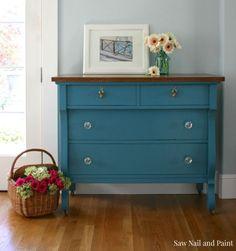 Calypso Blue Empire Dresser 2