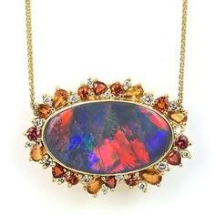 Opal pendant by Pamela Huizenga #opal #pendants #jewelry