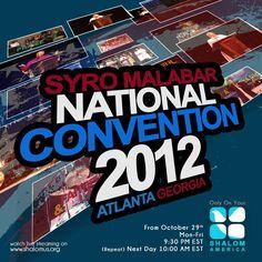 Watch the Highlights of the Syro-Malabar National Convention 2012 Atlanta, Georgia on Shalom America...