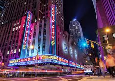 Radio City Music Hall in New York City :-)