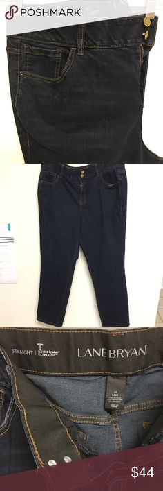 Lane Bryant T3 straight jeans Like new. 20Long. Tighter Tummy Technology. Lane Bryant Jeans Straight Leg