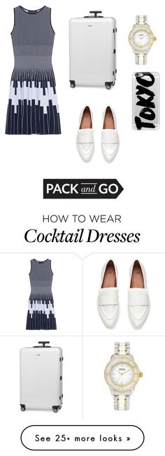 """""""Untitled #557"""" by kellylaeticia on Polyvore featuring Antonino Valenti, Rimowa, Versus, Casetify, tokyo and Packandgo"""