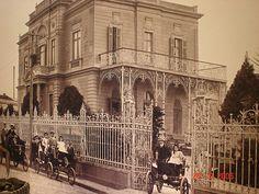 Santos Dumont em sua casa no bairro de Campos Elíseos - SP (reprodução)