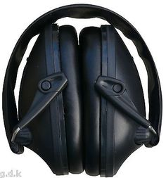 Gdk black ear #defenders, #electronic ear muffs, ear protection, #shooting muff,  View more on the LINK: 	http://www.zeppy.io/product/gb/2/121239957291/