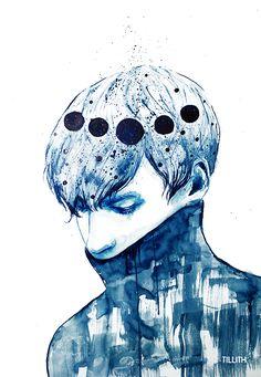 BLUE SPACE by Undurchsichtig on DeviantArt