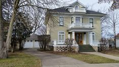 Built by Dr. Henry Wahle in 1904, this house is the best example of the Colonial Revival style in the City of Marshfield. In 1924, it was purchased by W.D. Connor, a leading Wisconsin lumberman, fo…