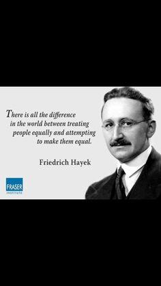 Friedrick Hayek