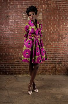 NEW The Gugu Wrap Coat Dress by DemestiksNewYork on Etsy