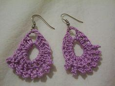 Easy+Crochet+Earrings | Dainty Earrings :: Free Crochet Earrings Roundup on Moogly