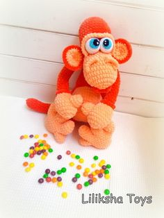 #monkey #amigurumi #patterm #crochet