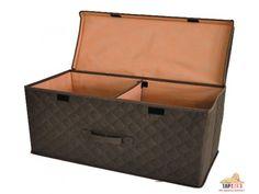 Коробка для хранения вещей 58*30*25 см коричневая, Design Line (Украина)