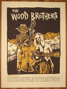 GigPosters.com - Wood Brothers, The