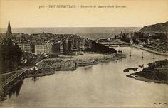 San Sebastián. Ensanche de Amara desde Errondo (Biblioteca de Koldo Mitxelena Kulturunea)