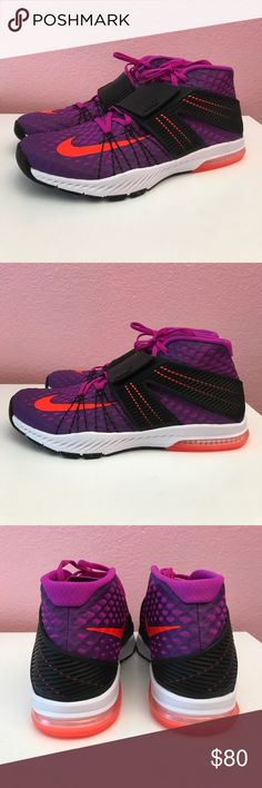 Nike Zoom Train Toranada Hyper Violet $140 Nike Zoom Train Toranada Hyper Violet $140 guaranteed new and authentic in box without lid. Nike Shoes Athletic Shoes