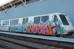 Painting U.S. clean trains are a real wildcard with your future. These two got it done and what a proper job they did.