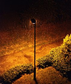 I'd love to see some sad figure or two romantic figures under this street light
