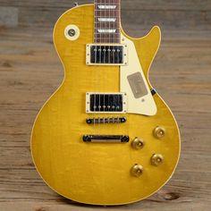 Gibson Custom Shop True Historic 1958 Les Paul Reissue Vintage Lemon Burst