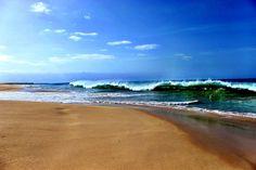 Sun, sea, sand making waves