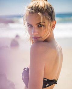 Welcome to the sub dedicated to all things for the model Marina Laswick. Bikini Beach, Bikini Girls, Beautiful Eyes, Beautiful Women, Elite Model, Marina Laswick, Canadian Models, Good Looking Women, Poses