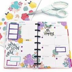 "Natasha Goldstein on Instagram: ""Happy #minimaniamonday everyone! I hope we all have a great week! Here's my mini spread #beforethepen . . . . . . #happyplanner…"" Study Planner, Planner Tips, Planner Layout, Weekly Planner, Planner Organization, Organization Skills, Organizing, Washi Tape Planner, Planner Dashboard"
