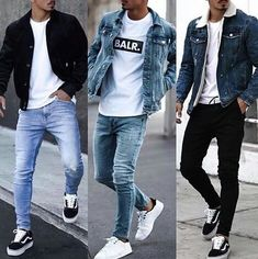 30 Awesome Black Jeans Outfit Mens to Try – Watch Center Cool Outfits For Men, Stylish Mens Outfits, Winter Outfits For Guys, Clothes For Men, Black Clothes, Autumn Outfits, Kleidung Design, Mode Man, Black Jeans Outfit