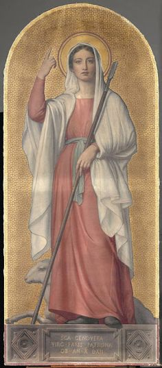 Sébastien-Melchior Cornu, S. Female Catholic Saints, St Genevieve, Roman Church, Christian Images, Religious People, Divine Mother, Mary And Jesus, St Francis, Blessed Mother