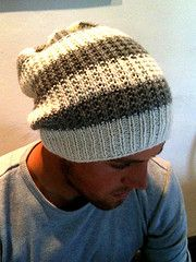 A simple slouchy hat, works in a range of Aran/ Worsted weight yarns & suitable for men or women. So called 'Traveller's Hat' because I worked on it whilst travelling around northern Scotland & because the first two hats have gone to my travelling son & his best mate!