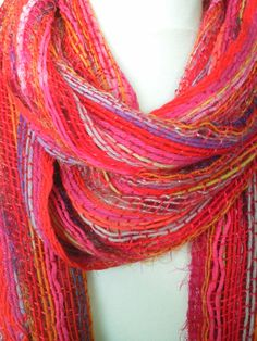 Hippy Fairly Traded Ethnic Boho New Woven Cotton /& Silver Lurex Scarf