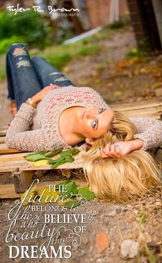 I wanna do a picture laying down :)