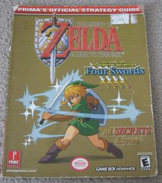 Legend of Zelda A Link to the Past Prima Official Strategy Guide Gameboy Advance