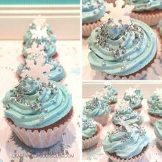 Frozen Cupcakes - Minimuffins