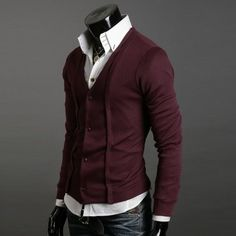 Cardigan-sweater-Design-Slim-Casual-shirt-man-slim