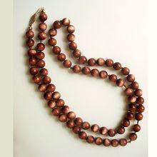Vintage Goldstone Necklace 14K Gold Clasp