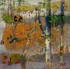 "All Inclusive   oil on canvas   48 x 48""   2013"