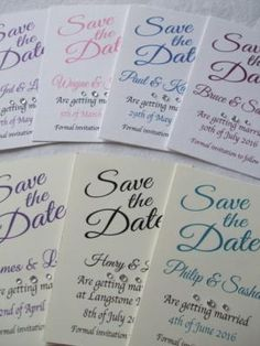 Simply Save The Dates is a Wedding Supplier of Stationery. Are you planning your Big Day and looking for wedding items, products or services? Why not head over to MyWeddingContacts.co.uk and take a look at Simply Save The Dates's profile page to see what they have to offer. Helping make your wedding day into a truly Amazing Day. Oh, and good luck and best wishes with your Wedding.