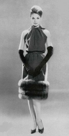 1960 dress Nina Ricci