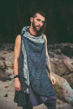 A personal favourite from my Etsy shop https://www.etsy.com/listing/522774532/nomad-style-burner-hoodie-sleeveless