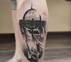 Dreamcatcher tattoo by Andrey Vinokurov